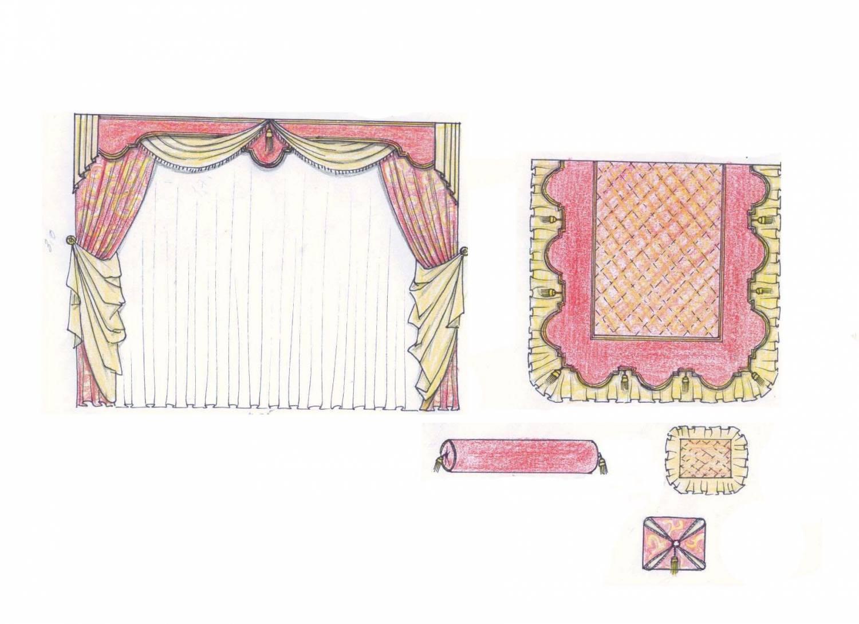 Проектирование шторного дизайна newhermitage 2006